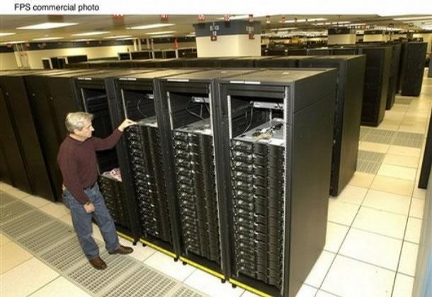 Worlds Fastest Computer inventors - IBM techniciansFastest Home Computer