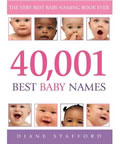 The most popular baby names book