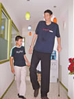 Worlds tallest man Bao Hishun
